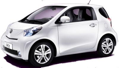 Présentation de la Toyota iQ de 2008..