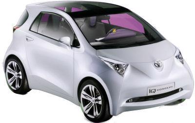 Présentation complète du concept car Toyota iQ Concept de 2007, qui a annoncé la future micro-citadine Toyota iQ..